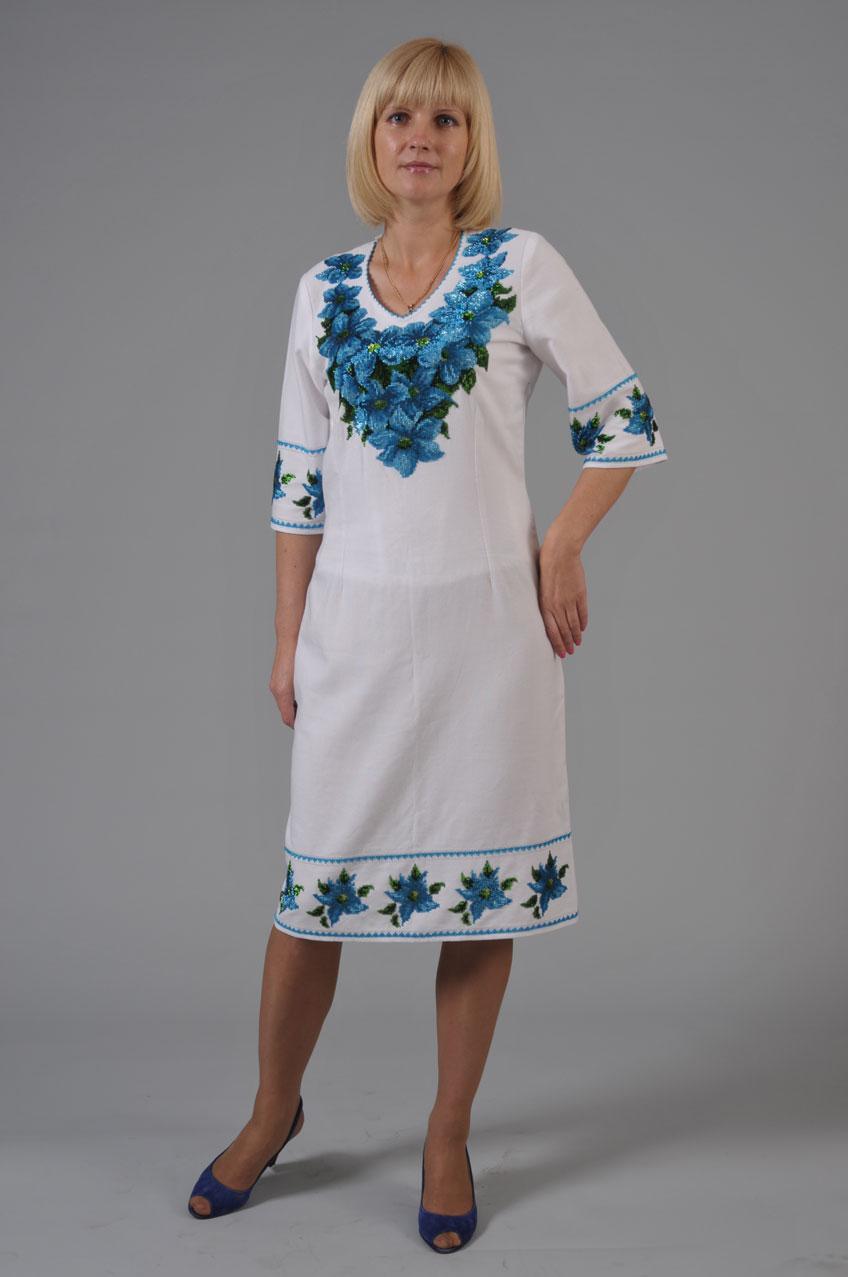 Вышиванка платье для женщин