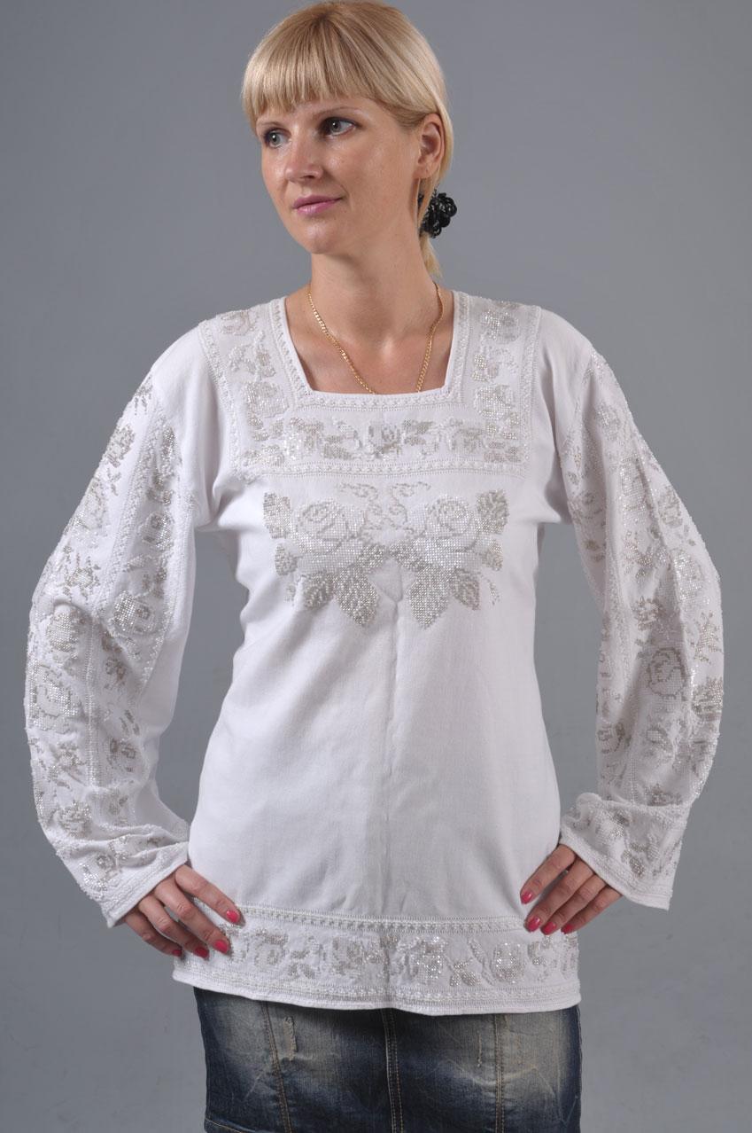Сорочка жіноча «Троянди»  ff7092c9e5c60