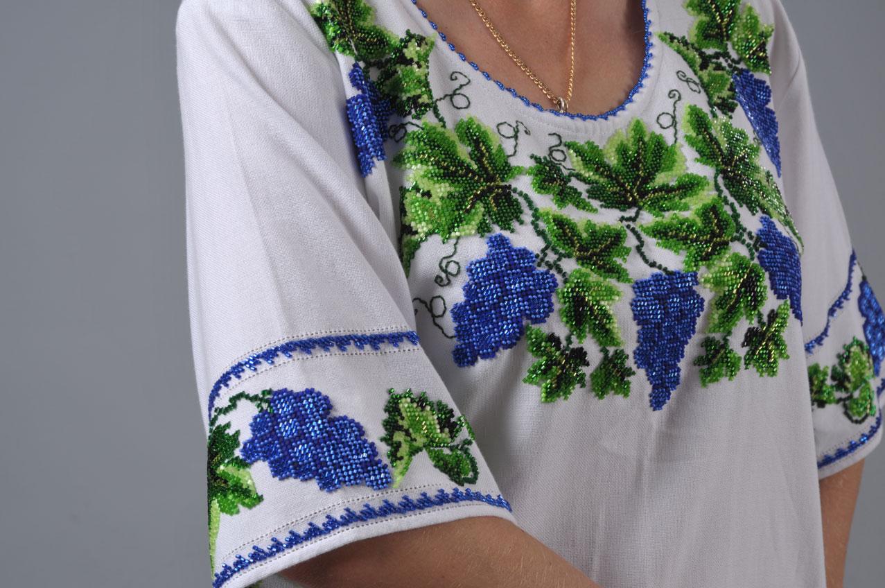 Купить Блузку Под Вышивку Бисером