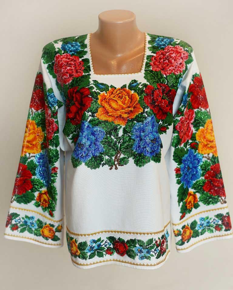 Жіночі вишиванки бісером купити в Києві 7efd9f8e02830
